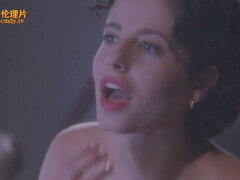 Hot American actress in erotic feature-length film