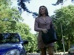French Bitch Fucked In The Woods