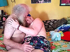 Trans female Roleplay suck anal w Dirty (not) Grandpa
