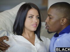 Adriana Chechik and hot blooded black dude