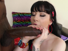 Her white bubble butt was made for anal with his BBC