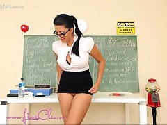 Hottest Brunette Webslut Squirting Webcam Sex Show