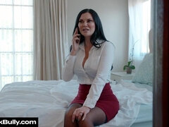 Jasmine Jae gets fucked by her husband's boss