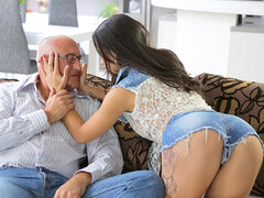 OLD4K. Handsome daddy able to please all needs of...