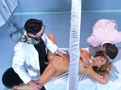 Sexy blonde got fucked in the hospital