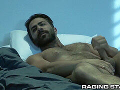 Hot Armenian daddy Gets ravaged Up By yam-sized Black Dick