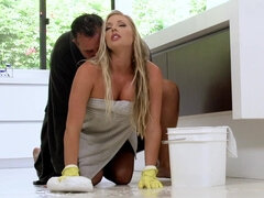Super hot maid is often getting fucked