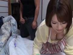Juicy Japanese ladies getting fucked on camera