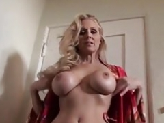 Ultimate Sexually available mom Julia Ann is unclothing and trying on lingerie!