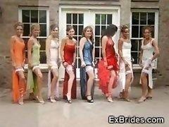 Actual Brides Voyeur Adult entertainment!