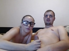 Inexperienced Sex with Girl in Glasses