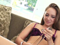 Slim Remy LaCroix fucked in the tush by a huge cock