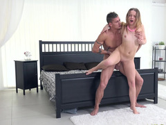 White-skinned lass never await to have such an amazing make love