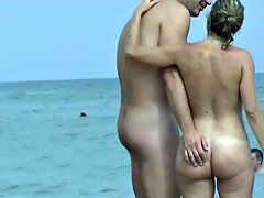 Saw these nudist  babes on my travels this summer