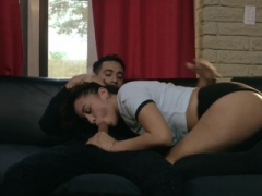 Belly punishment and besides huge jug secretary gets punished Having an intercourse