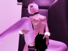 Emo Kitty Gets Her Feet Used And additionally Cummed On In 3D Adult Game