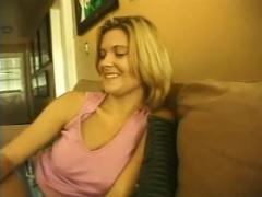 Precious blondie Having a Precious body Has drilled