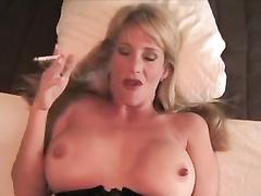 Super Hot stepmom smoking and plus ravaging
