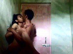Bangla woman penetrated in toilet