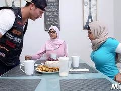 Doggystyle fuck for an arab beauty