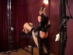 Female Stella and also Silvia banging Slaves