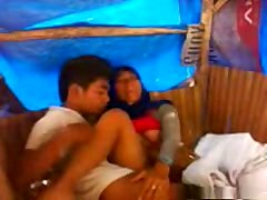 Indonesian Couple Making love
