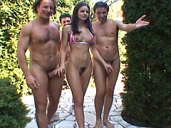 Lucy Lee gets hardcored by 10 fellas