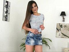 Long legged Spanish gal Lorena Garcia