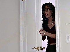 Hot mom Alana shows Nina how to make love her bf