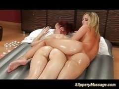 Lesbo Gals Loves Giving Massages