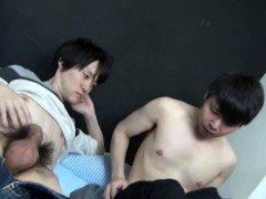 Japanese homosexual face sperm