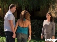Newbie swingers swapping partners in reality show