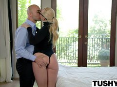TUSHY Chunky AJ Applegate Punished By Her Boss