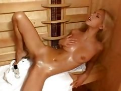 solo play in the sauna