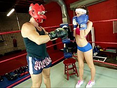 Schooling to become the lascivious boxer