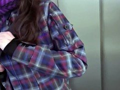 Slender pulled legal teen shows her undersized tits