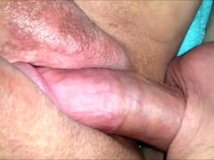 Rookie BBW has her pussy fucked