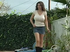Boobalicious step-mom fucking her son