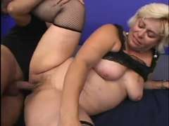 Mature McCoy Gets Her Soggy Vagina Nailed
