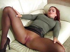Rödhårig, Stockings