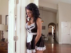 French maid Peta Jensen fucked in her flawless pornography twat