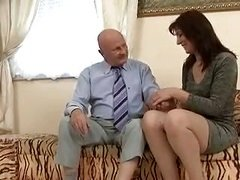 Grand pa have an intercourse some mother