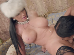 Milfs rent a male pornstar to fuck their wet pussies