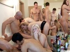 CZECH HOME Group intercourse PARTY