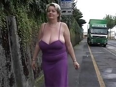 Solitary #2 (Mature Large nice-looking women with Large Boobs)