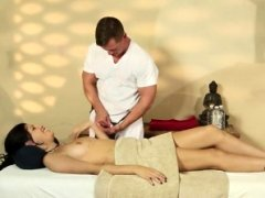 Utterly tricky massage hotel of horny masseur