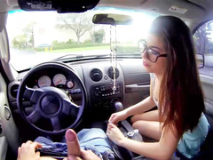 Ava Taylor bangs in the car and also in the bed