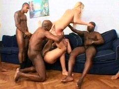 Smoking hot interracial sluts appreciate it rough 2