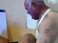 Old Fella Having an intercourse Pregnant Lady
