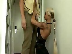 Policeman gets a undersized alternative treatment with hot mouth and additionally pink slit